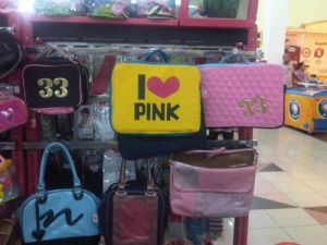 Pink apa kuning nih jadinya...