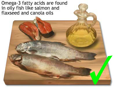 Ikan dan minyak ikan kaya akan omega 3 dan omega 6