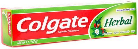 Pasta gigi herbal - colgate.