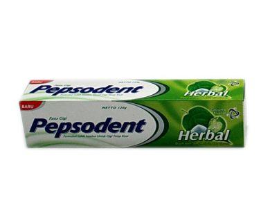 Pasta gigi herbal - pepsodent.