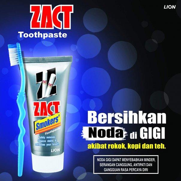 Salah satu contoh produk pasta gigi untuk perokok.