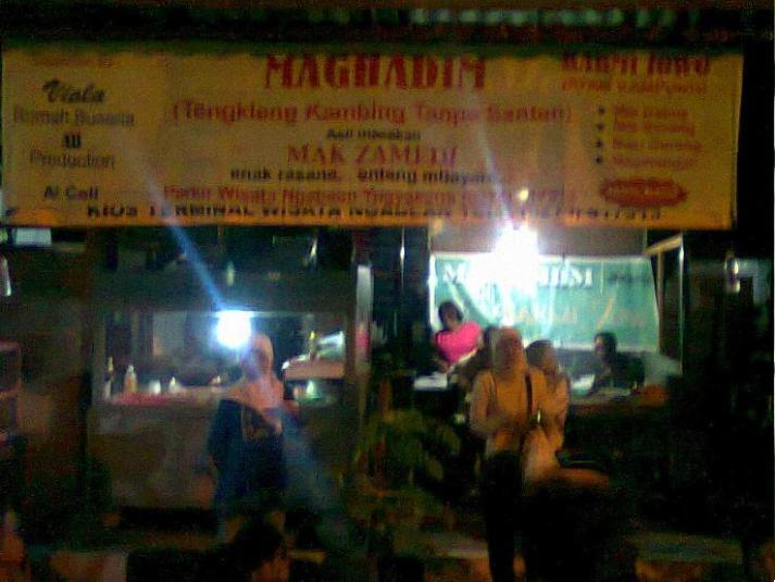 Warung makan magadim di Ngampilan